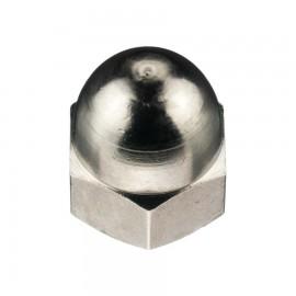 Dopmoer Messing Vernikkeld DIN1587 M10