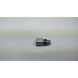 Inschroefkoppeling recht 6 mm x 1/8