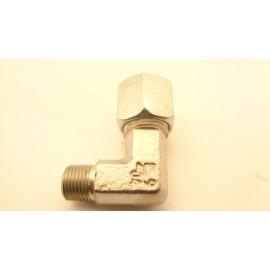 knelkoppeling  knie 1/8 x 6 mm