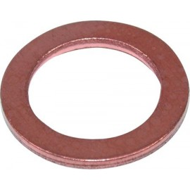 Koperen ring 14x10x1,5