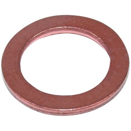Koperen ring 22x16x1,5